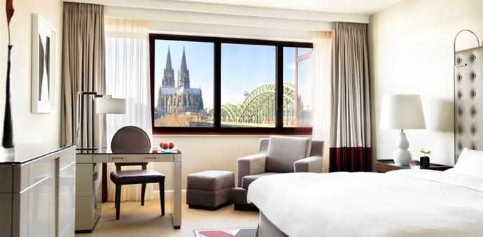 Мебель для гостиницы Hyatt Regency Cologne, Köln
